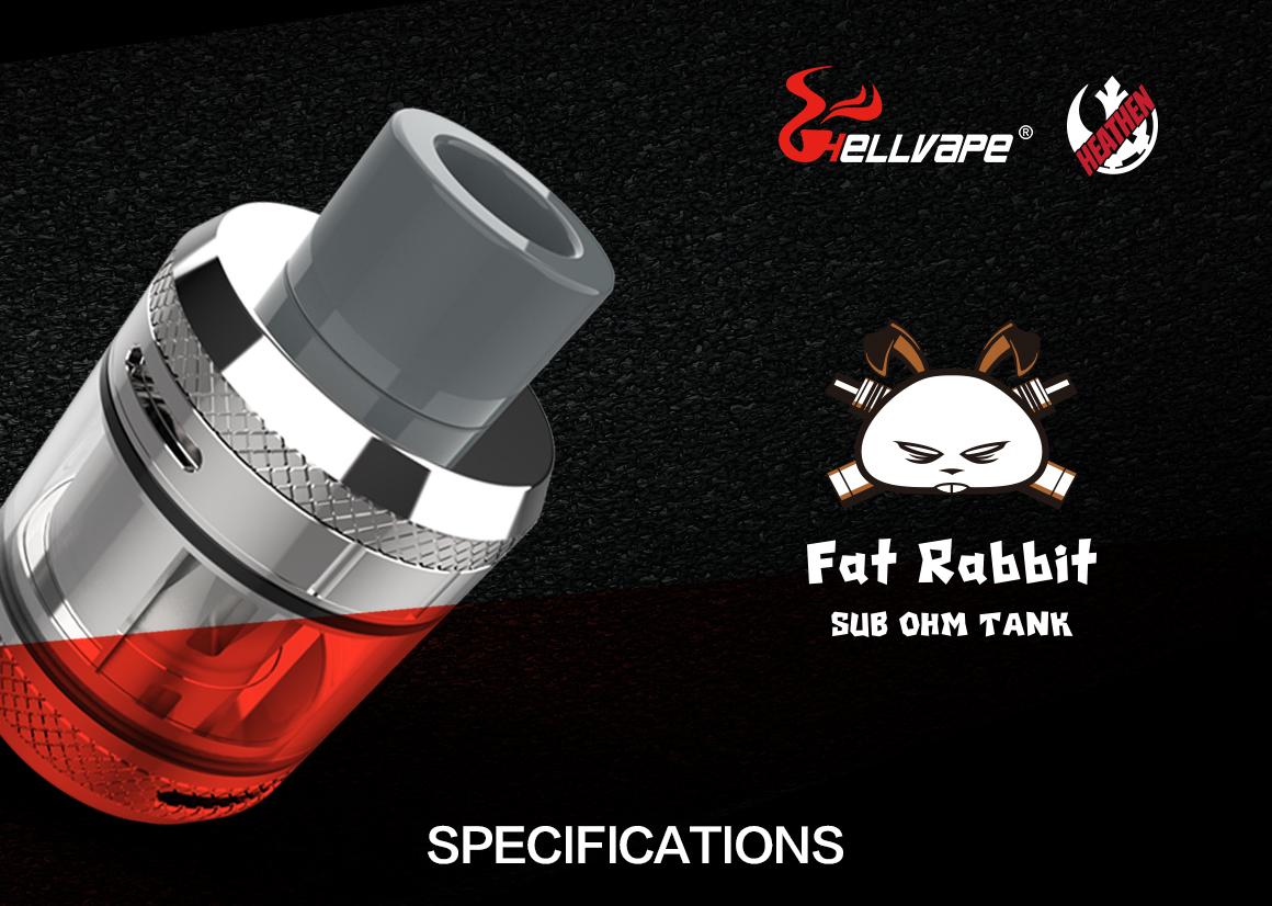 Hellvape Fat Rabbit Sub-Ohm Tank