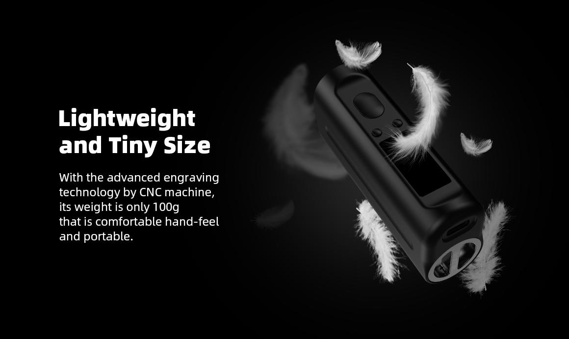 Arez 120 Mod - Lightweight and Tiny Size