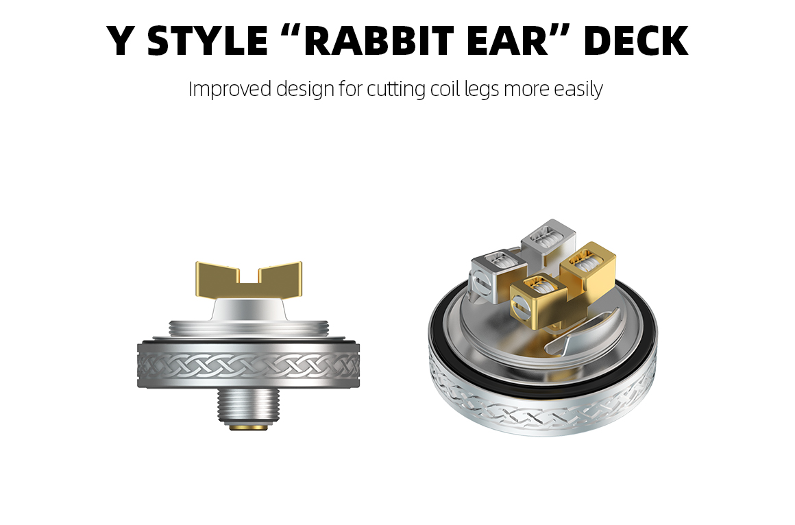 hellvape dead rabbit v2 rta - build deck